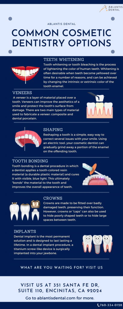 Common Cosmetic Dentistry Options
